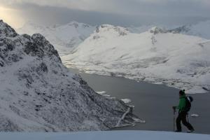 scenery in the Lofotens