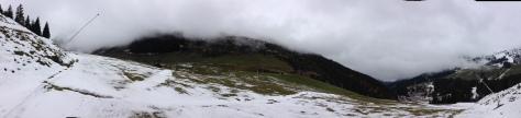 Early season - spotty snow, immaculate stoke